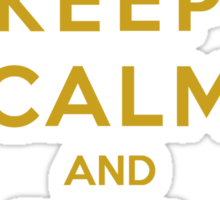 Keep Calm And Be A Lannister (Color Version) Sticker