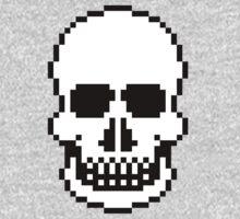 Pixel Skull by JWaring
