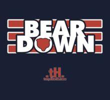 BEAR DOWN TEE by tony.Hustle.tees ®