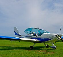 Texan Top Class LSA light aircraft, Tooradin Airport, Australia. by johnrf