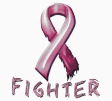 Breast Cancer Fighter by magiktees