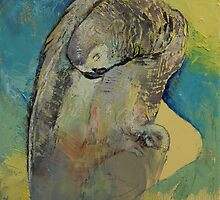 Grey Parrot by Michael Creese