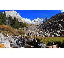 Arethusa creek and peaks II Photographic Print