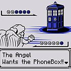 Angels VS The PhoneBox by Onebluebird