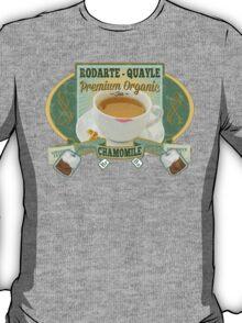 Breaking Bad Inspired - Rodarte-Quayle Chamomile Tea - Lydia's Tea - Ricin Spiked Stevia - Breaking Bad Finale Parody T-Shirt