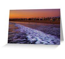 Venice Beach Sunset Greeting Card