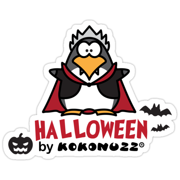 Halloween DraKOOla - The Penguin Vampire by Kokonuzz