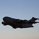 RAAF C-17 Globemaster Sunset by Daniel McIntosh
