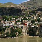Hasankeyf at Tigris River by Jens Helmstedt