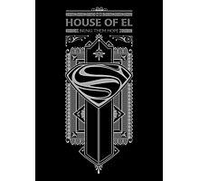 House of El Photographic Print