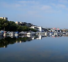 By The Brayford by Scott Lyons