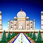 The Taj Mahal - A Love Story by Dennis Melling