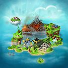 Super Mario RPG map by reffjey