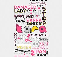 KARA Sweet Melody (Phone Case) by pinkbook