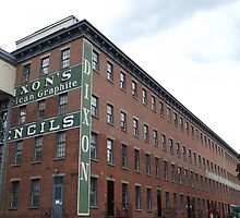 Historic Jersey City, Dixon Mills Factory, Converted to Residence, New Jersey by lenspiro