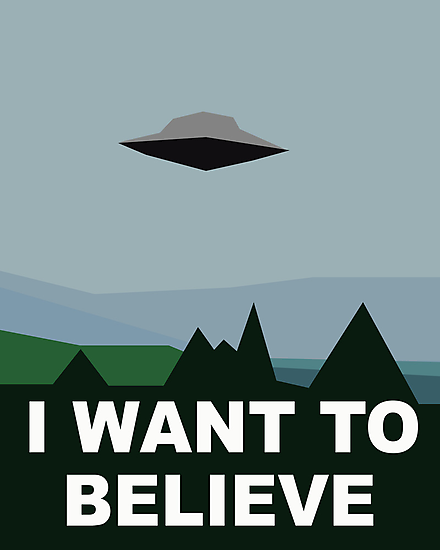 I Want To Believe by williamhenry