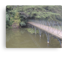 Peaceful Bridge (Blenheim Grounds) Canvas Print