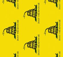 Iphone Case - Gadsden (Tea Party) Flag IV by Mark Podger