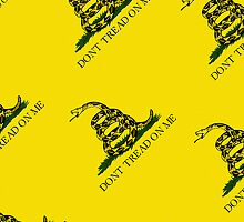 Iphone Case - Gadsden (Tea Party) Flag V by Mark Podger