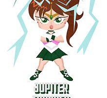 Sailor Moon: Sailor Jupiter Thunder Crush by TornadoTwist