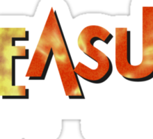 Treasure Videos Games (Replica) Sticker