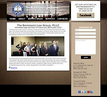 The Bornmann Law Group Web Design Project by Joshua Jacoby