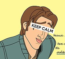 Keep Calm: Smolder by nomadicart