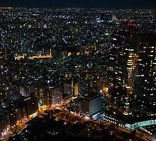 Shinjuku at Night by Simon Read
