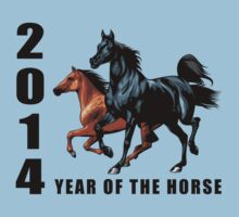 2014 Year of The Horse T-Shirts Gifts Prints Kids Clothes