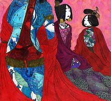 Jocuba and the Concubines by schiz0phelia