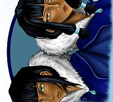 Eska and Desna by InsaneAsylum
