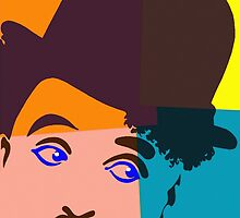 Charles Chaplin, Charlot by Art Cinema Gallery
