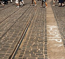 Crossing Cobblestones by Audrey Farber