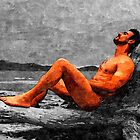 Reclined Nude Drifter by BrianJoseph
