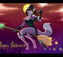 Halloween tricks by Yoko-Darkpaw