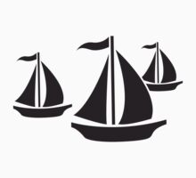 3 Sailing Boats by Style-O-Mat