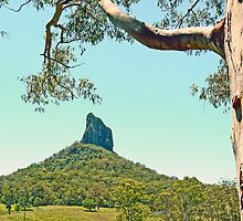 Mt Coonowrin (Crookneck) by Graeme  Hyde