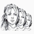 Beyonce Reflection by Priyanka Nayak