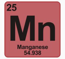 Element Mn Manganese by SignShop
