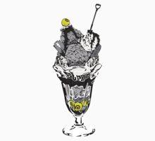 Zombie sundae by ElPino