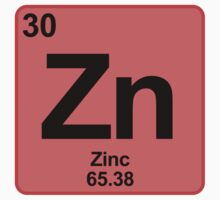 Element Zn Zinc by SignShop