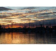 Spectacular Sky - Toronto Beaches Marina Photographic Print