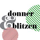 Christmas ampersand - donner & blitzen by rperrydesign