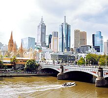 Melbournes Yarra  by Petecullin22