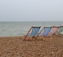 Brighton Beach 3 by Adam Wain