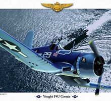 "Vought F4U ""Corsair"" by A. Hermann"