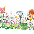 Teacup Garden by carla zamora