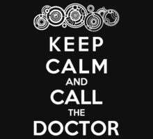 Keep Calm And Call The Doctor (Gallifreyan Version) Kids Clothes
