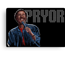 Richard Pryor - Comic Timing Canvas Print
