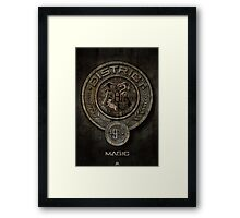 The Hunger Games and Hogwarts clash Framed Print